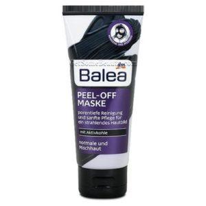 Balea, masque peeling avec charbon peel off