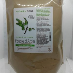 Aroma zone poudre ayurvédique Amla Bio 250g