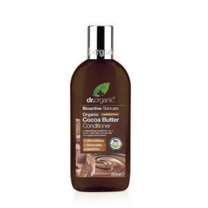 Dr organic aprés shampoing beurre de cacao 265ML