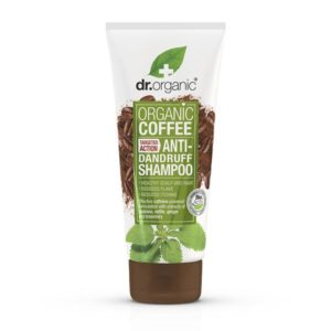 Dr organic shampoing antipelliculaire à la menthe et au café 256 ml