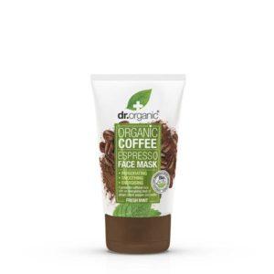 Dr organic masque à café visage BIO 125 ml