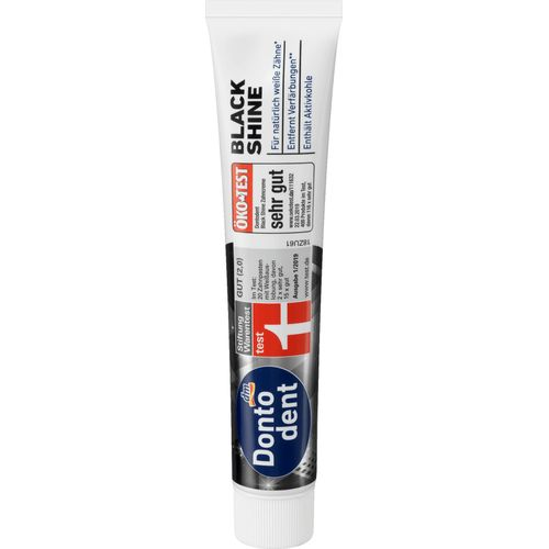 Dontodent dentifrice balck shine