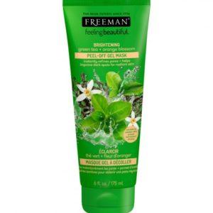 Freeman masque éclaircissant au thé vert et fleur d'oranger
