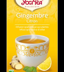 Yogi tea, infusion Gingembre Citron bio
