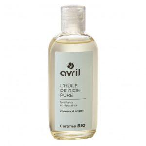 Avril huile de ricin anti chute certifié bio 100 ml