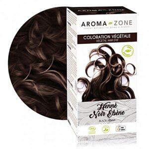 Aroma zone, coloration henné noir ébéne bio