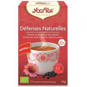 Yogi Tea infusion défenses naturelles bio 17 sachets