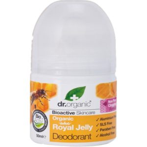 Dr organic déodorant à la Gelée Royale -Bio 50 ML