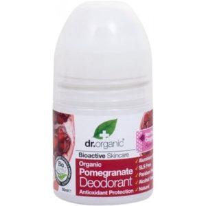 Déodorant bio à la grenade 50 ML-Dr. Organic bio Maroc