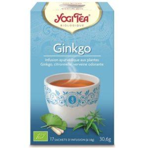 Yogi Tea infusion Ginkgo bio 17 sachets