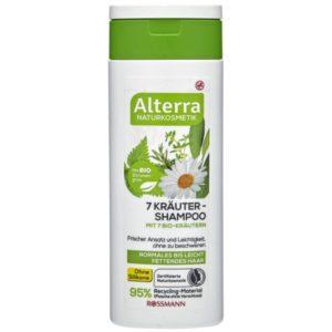 Alterra shampooing aux 7 herbes produit Bio