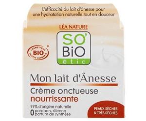SO BIO creme onctueuse nourrissante peau séche à très séches 50 ML