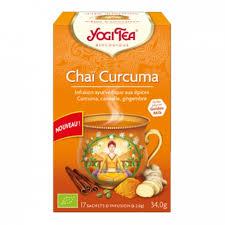 Yogi tea infusion Chai curcuma 17 sachets