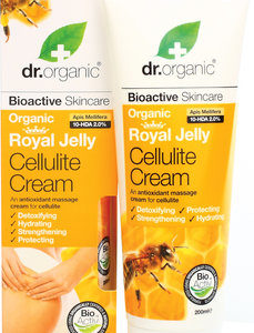 Dr. Organic Crème Cellulite à la Gelée Royale 200ml