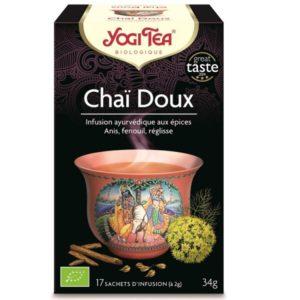 Yogi tea-chai-doux-bio-17-sachets