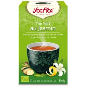 thé vert au jasmin bio disponible au Maroc