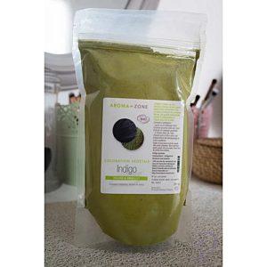 AROMA ZONE Indigo poudre Bio 100 % 250g