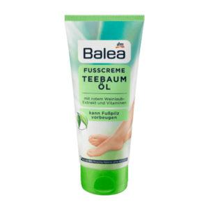 Balea crème pour les pieds à l'huile d'arbre à thé