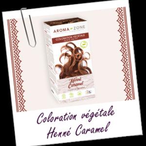 Aroma zone coloration végétale henné caramel BIO