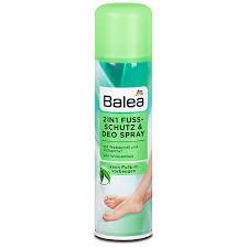 Protection des pieds et déodorant en spray Balea 2en1