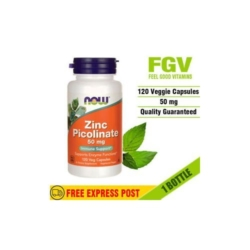 Now zinc picolinate 50 mg 120 capsules certifier usa