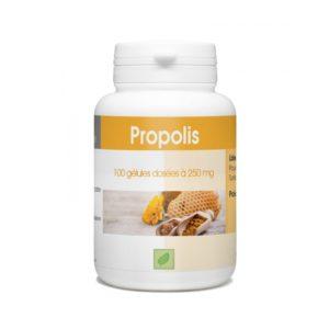 Les abeilles utilisent la Propolis comme véritable ciment de la ruche, qu'elle défend contre les bactéries, champignons,, et autres envahisseurs