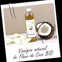 VINAIGRE NATUREL DE FLEUR DE COCO BIO