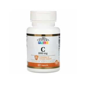 21st Century Vitamin C, 1,000 mg, 60 Tablets