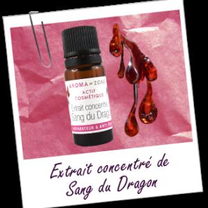 ACTIF COSMÉTIQUE EXTRAIT CONCENTRÉ DE SANG DU DRAGON