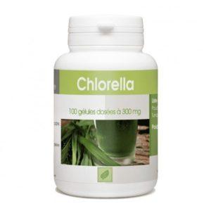 CHLORELLA 100 gelules 300 mg