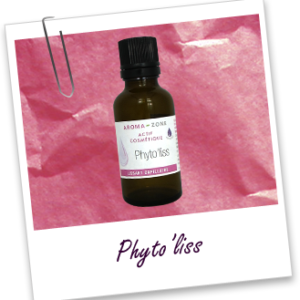 Aroma zone, actif cosmétique phyto'liss