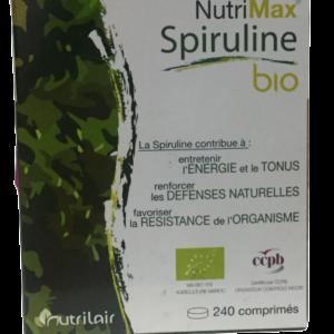 Spiruline Bio Nutrimax 240 comprimés