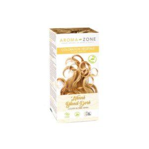 Aroma zone coloration végétale henné blond doré bio