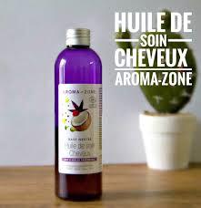 Aroma zone, huile de soin cheveux bio