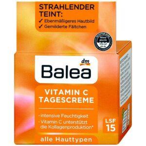 Balea, crème de jour vitamine C SPF 15
