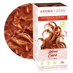Aroma zone, coloration henné cuivrée
