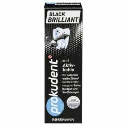 Rossmann, crème dentaire black brillant