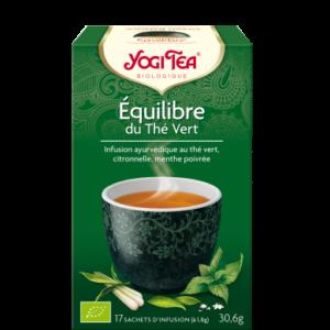 Yogi Tea, infusion Équilibre du thé vert bio
