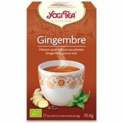Yogi Tea, infusion gingembre
