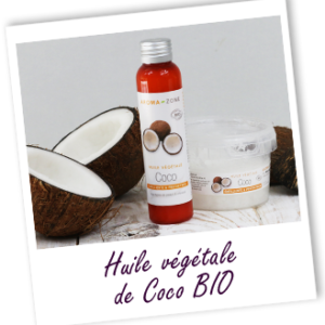 Aroma zone, huile végétale de coco bio