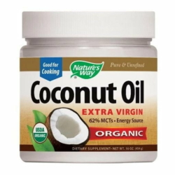 Nature's Way, organic coconut oil 454gr