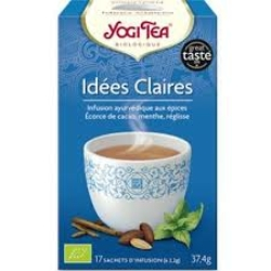 Yogi Tea, infusion idées claires