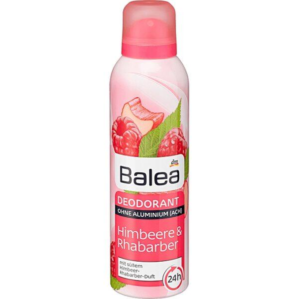 ihlashop Balea, déodorant deo spray Framboise et Rhubarbe