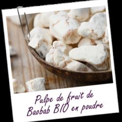 Aroma zone, poudre pulpe de fruit de baobab