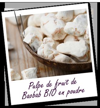 IHLASHOP AROMAZONE PULPE DE FRUIT DE BAOBAB BIO EN POUDRE
