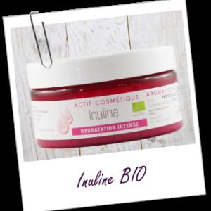 Aroma zone, actif cosmétique inuline bio