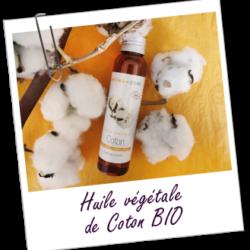 Aroma zone, huile de coton bio