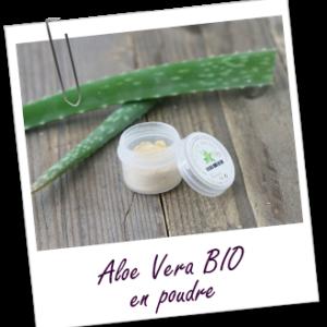 ihlashop Aroma zone, poudre d'aloe vera bio