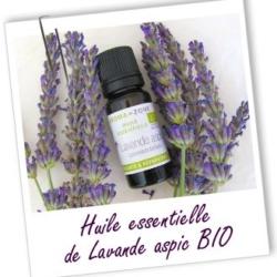 Aroma zone, huile essentiel lavande ASPIC BIO