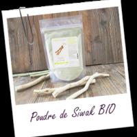 Aroma zone, pourde de siwak bio